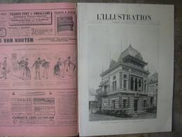 L'ILLUSTRATION 2421 L'EXPOSITION/ FRONTIERE ITALIENNE 20 JUILLET 1889 - Journaux - Quotidiens