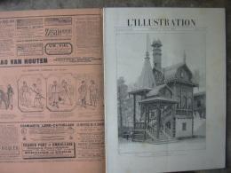 L'ILLUSTRATION 2425 EXPOSITION / HAUTE COUR/ VIGNERONS VEVEY/ NAUFRAGE ANADYR 17 Aout 1889 - Journaux - Quotidiens