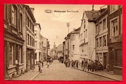 Hodimont (Verviers) Rue Grande.  Coiffeur M. Weis. Café J. Defauwes. - Verviers