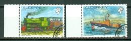 Alderney 1993  Yv. 59/60 (o),  Cote Yv. € 7,00 - Alderney