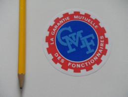 Autocollant - Assurances GMF Fonctionnaires - Autocollants