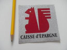 Autocollant - CAISSE D´EPARGNE écureuil - Autocollants