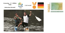Spain 2016 - Olympic Games Rio 2016 - Gold Medal Canoeing Male Germany Cover - Juegos Olímpicos