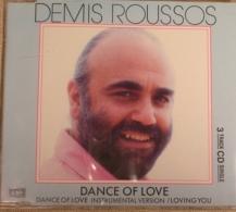 CD - DEMIS ROUSSOS - DANCE OF LOVE - EMI - 1274802 - 1989 - Rock