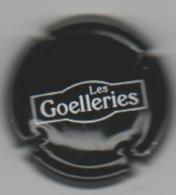 """CAPSULE DE CIDRE """"Les GOELLERIES"""" Diamètre 26mm, Noir & Blanc - Capsules & Plaques De Muselet"""
