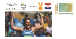 Spain 2016 - Olympic Games Rio 2016 - Gold Medal Athletics Female Croatia Cover - Juegos Olímpicos