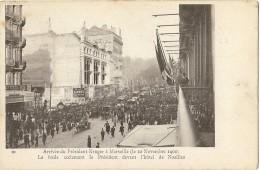 """LRD9B- EXPOSITION PARIS NOVEMBRE 1900 -  """"ARRIVEE DU PRESIDENT KRÜGER A MARSEILLE"""" OBL. DE L'EXPOSITION - 1900 – Paris (France)"""