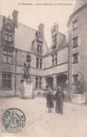G , Cp , 18 , BOURGES , Cour Intérieure De L'Hôtel Cujas - Bourges
