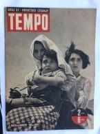 "NDH CROATIA   MILITARY  MAGAZINE  NOVINE  CROATIAN EDITION    ""  TEMPO  ""    PROPAGANDA  USTAŠE   USTASE  1942. NR. 37 - Bücher, Zeitschriften, Comics"