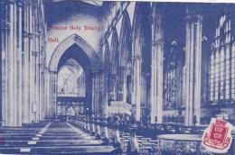 HULL  - HOLY TRINITY CHURCH INTERIOR - Hull