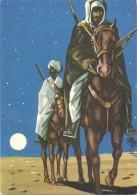 KÜNSTLER - KARL MAY, Illustration Zu Band 1, Durch Die Wüste - Künstlerkarten