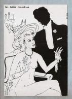 CPM - Illustrateur (V.H. Blemus) - 138. Sizi - L'Escargot - Série Manières : Les Belle Manières - Illustrators & Photographers