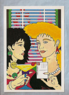 CPM - Illustrateur (Patrick Hamm) - Carte Club Neudin No 19 - 1986 - Hamm