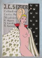 """CPM - Illustrateur (Patrick Hamm) - 3. Sizi - L'Escargot - """"Nu"""" - Hamm"""