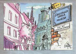 """CPM Illustrateur - """"Les Chasseurs D'Images"""" - No 30. Les Rues De Mulhouse - Ilustradores & Fotógrafos"""