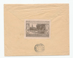 623/24 - NETHERLANDS Franked Cover DINTELOORD 1914 To Belgium - SUPERB BERGEN OP ZOOM Label On Backside - 1891-1948 (Wilhelmine)