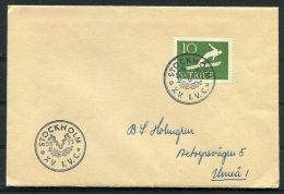 1953 Sweden Stockholm 15th I.V.C. Cover