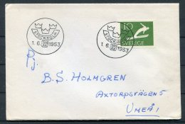 1953 Sweden Stockholm 700 Years Jubilee Cover