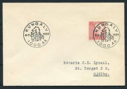1959 Sweden Kungalv 1000 Years Jubilee Cover