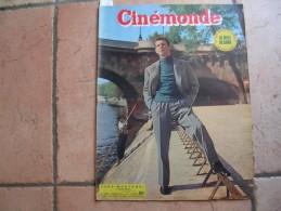 CINEMONDE N° 1003 ( OCTOBRE 1953 ) YVES MONTAND - EVA BARTOK - MAURICE RONET - MARILYN MONROE - LUIS MARIANO - Cinéma