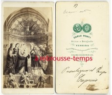 CDV Religion-photo Carlo Ponti à VENEZIA-lire Au Dos - Old (before 1900)