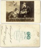 CDV Religion-photo Carlo Ponti à VENEZIA- Marle-lire Au Dos - Old (before 1900)