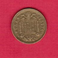 SPAIN  1 PESETA 1966 (67) (KM # 796) - [ 5] 1949-… : Kingdom