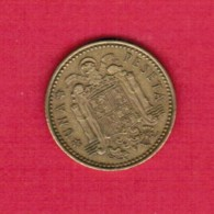 SPAIN  1 PESETA 1966 (74) (KM # 796) - [ 5] 1949-… : Kingdom