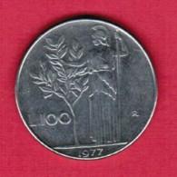 ITALY  100 LIRE 1974 (KM # 96) - 1946-… : Republic
