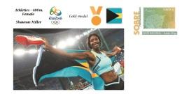 Spain 2016 - Olympic Games Rio 2016 - Gold Medal Athletics Female Bahamas Cover - Juegos Olímpicos