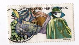 F01987 - Francobollo Stamp - Repubblica Italiana - Lavoro Work Made Initaly Moda - 6. 1946-.. Repubblica