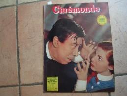 CINEMONDE N° 1022 ( MARS 1954 ) FERNANDEL - CECILE AUBRY - LUIS MARIANO - Cinéma
