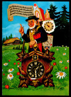 2728 - Alte Ansichtskarte - Leporello Kuckuckshuhren - Ansichtskarten