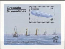 Grenada Grenadines Yvertn° Bloc 75 *** MNH  Cote 55 FF Zeppelin - Grenade (1974-...)