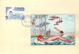 Natation  Sc 366  Natation - Swimming - Maximumkaarten