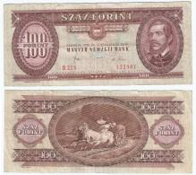 Hungría - Hungary 100 Forint 1980 Pick 171.f Ref 833 - Hungría