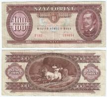 Hungría - Hungary 100 Forint 1989 Pick 171.h Ref 836 - Hungría