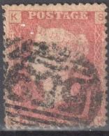 Great Britain 1858-79 - Queen Victoria, 1d Red - Mi.16 Plate 78 - Used - 1840-1901 (Viktoria)