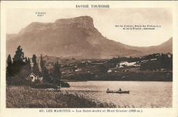Les Marches Lac Saint Andre Et Mont Granier - Frankreich