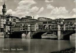 FIRENZE   PONTE  VECCHIO    (VIAGGIATA) - Firenze