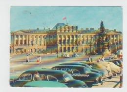Sankt Petersburg - Leningrad - Parking Auto - Taxi Cab Black Car - Taxi & Carrozzelle