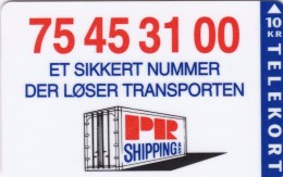Denmark, P 012, PR Shippinge, Only 1000 Issued, 2 Scans. - Denmark