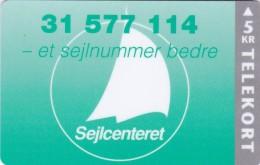 Denmark, P 015, Mint, Sejlcentret, Only 1500 Issued, 2 Scans. - Denmark
