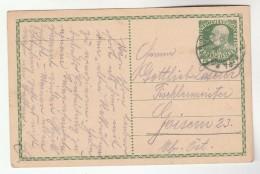 1915 Sankt Polten AUSTRIA  Postal STATIONERY CARD Stamps Cover - Stamped Stationery