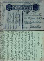 3282a)cartolina In Franchigia  De 12-01-42 Per Trecastagne - Franchise