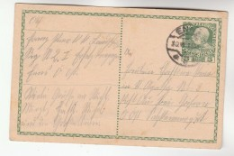 1915 Enns AUSTRIA  Postal STATIONERY CARD Stamps Cover - Stamped Stationery