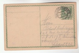 1915  Richenberg AUSTRIA  Postal STATIONERY CARD Stamps Cover - Stamped Stationery