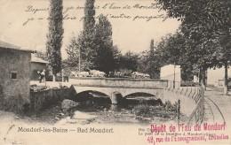Mondorf Les Bains Le Pont De La Frontière Nels Attelages - Mondorf-les-Bains