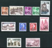 Divers Timbres De 1957-59 Neufs Avec Charnière * - Isola Di Rèunion (1852-1975)