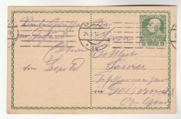 1916 Salzburg AUSTRIA  Postal STATIONERY CARD Stamps Cover - Stamped Stationery